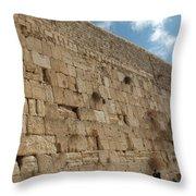 The Kotel - Western Wall In Jerusalem Throw Pillow