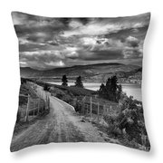 The Kvr Trail Throw Pillow