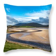 The Kyle Of Durness Throw Pillow