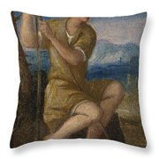 The Labours Of The Months   May Throw Pillow