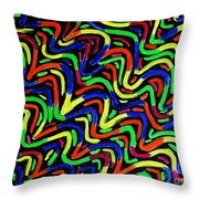 The Labyrinth With Happy Ending Throw Pillow