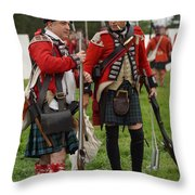 The Ladies From Hell Throw Pillow