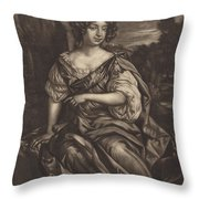 The Lady Essex Finch Throw Pillow