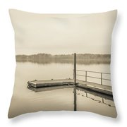 The Lake #22 Throw Pillow