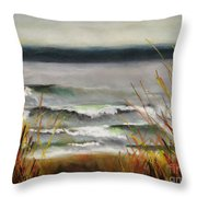 The Lake Shore Throw Pillow