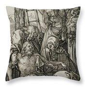 The Lamentation Throw Pillow