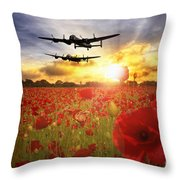 The Lancasters Throw Pillow