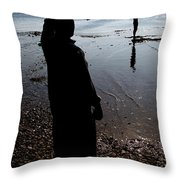 The Land Is Throw Pillow