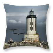 The Landing Zone Throw Pillow