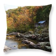The Landscape By Klepzig Mill Throw Pillow
