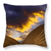 The Landscape Of Lorna. Throw Pillow