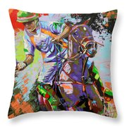 The Last Attack Throw Pillow