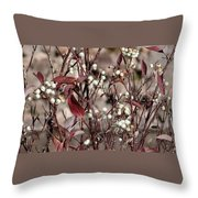 The Last Berries Throw Pillow