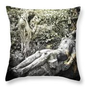 The Last Breath Throw Pillow