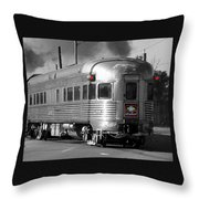 The Last Car Throw Pillow