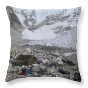 The Last Expedition  Throw Pillow