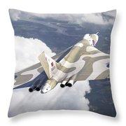 The Last Flight Of The Vulcan Throw Pillow