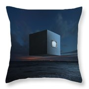 The Last Known Photograph Of God V2 Throw Pillow
