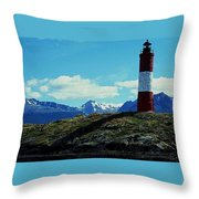 The Last Lighthouse ... Throw Pillow