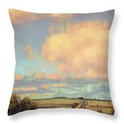The Last Mile Throw Pillow