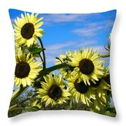 The Last Of Summer Throw Pillow