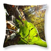 The Last Of The Green Throw Pillow