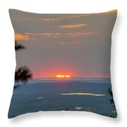 The Last Of The Sunset Throw Pillow