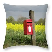 The Last Post Throw Pillow
