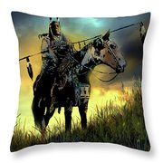 The Last Ride Throw Pillow by Paul Sachtleben