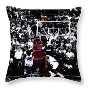 The Last Shot 5 Throw Pillow
