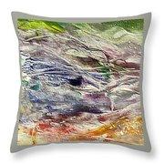 The Last Snow Throw Pillow