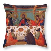 The Last Supper 1311 Throw Pillow