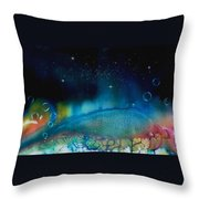 The Last Turtle From The Sea Of Cassiopeia Throw Pillow