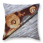 The Latch Throw Pillow