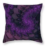 The Lavender Forest 4 Throw Pillow