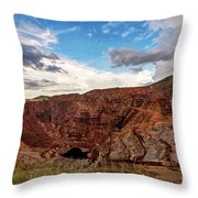 The Lavender Pit Throw Pillow