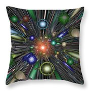 The Law Of Gravity Throw Pillow