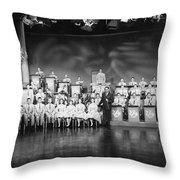 The Lawrence Welk Show Throw Pillow
