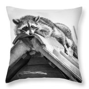 The Lazy Being Throw Pillow