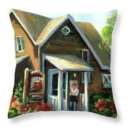 The Lazy Susan - Your Table Is Ready Throw Pillow