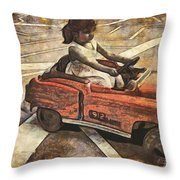 The Learners Licence Test Throw Pillow