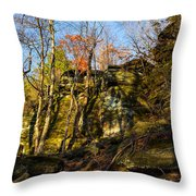 The Ledges  Throw Pillow