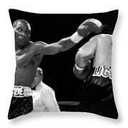 The Left Jab Throw Pillow
