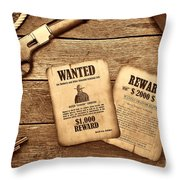 The Legend Of Frenchie Throw Pillow