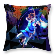 The Legend Of Zelda Breath Of The Wild Throw Pillow