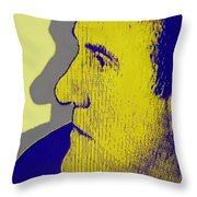 The Legendary Gerard Depardieu Throw Pillow