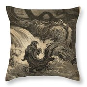 The Leviathan Throw Pillow