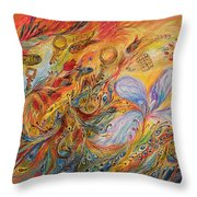 The Levitation Throw Pillow