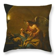 The Liberation Of Saint Peter Throw Pillow