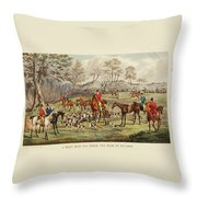 The Life Of A Sportsman Throw Pillow